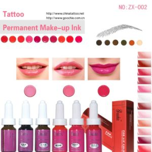 for Lip/Eyebrow Tattooing -Permanent Makeup Ink Pigment (ZX-002) pictures & photos