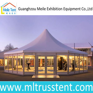 Aluminum Outdoor Luxury Marquee Party Event Glass Octagonal Wedding Tent pictures & photos
