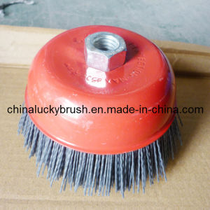 4 Inch Nylon Abrasive Filament Cup Brush (YY-048) pictures & photos
