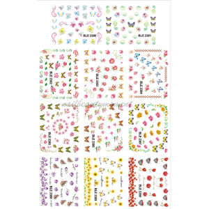 Latest Nail Art Water Transfer Decal Sticker Beauty Products (NPP11)