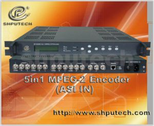 MPEG-2 IP Encoder--Asi in (SP-E5205)