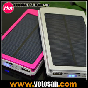 Portable 10000mAh USB Universal External Solar Battery Charger