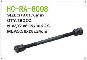 Bicycle Parts Steel Axle (RA-8008) pictures & photos