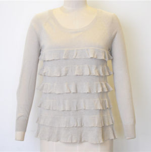 New Wavy Pure Color Women Knit Sweater pictures & photos