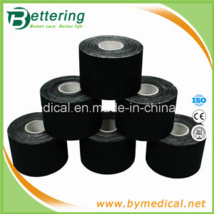 Black Colour Waterproof Kinsio Tex Muscle Rehabilitation Therapy Tape pictures & photos