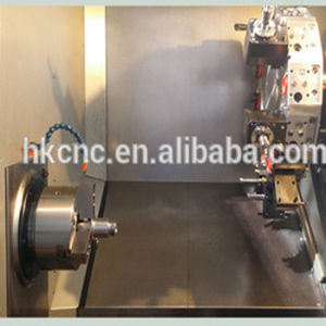 China Hydraulic Chuck Flat Bed CNC Lathe (CKNC61100) pictures & photos