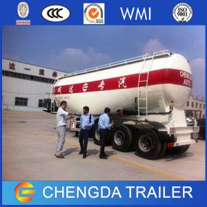 3axle 35ton Bulker Cement Cargo Tanker Truck Semi-Trailer for Sale pictures & photos