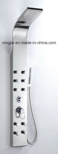 Massage Shower Panel with European Shower System Nj-9862 pictures & photos