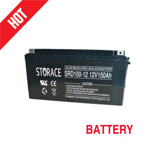 Solar/Deep Cycle Battery with Sealed Lead Acid for Solar Power System