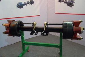 Semi-Trailer Spokes Axle with M20-6 Studs pictures & photos