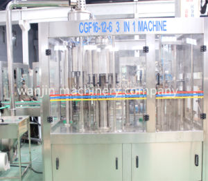 3in1 Atuomatic Mineral Water Filling Machine pictures & photos