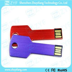 Custom Logo Multi Color Aluminum Key USB Flash Drive (ZYF1154) pictures & photos