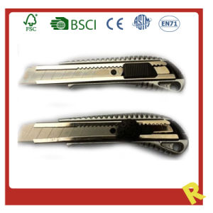 Metal Stationery Utility Knife for Offie Supply pictures & photos