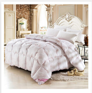 Customized Goose Soft Feeling Simple Style Down Quilts (T129) pictures & photos