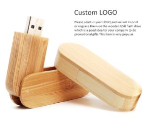 Wooden USB Memory Stick for Wedding Gift Can Engrave Your Name pictures & photos