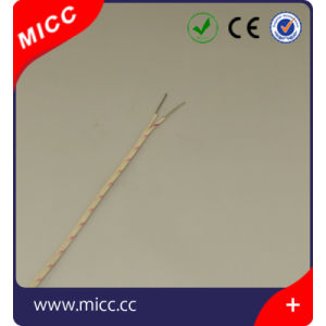 High Temperature Solid K Type Glass Fiber Insulated Fiber Thermocouple Wire pictures & photos