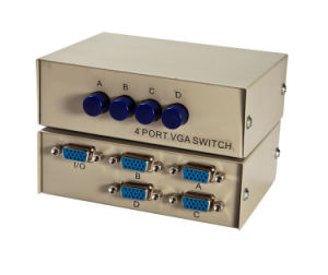 4 to 1 VGA Switcher (CA0401) pictures & photos