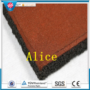Gt0201 Square Outdoor Rubber Tile/Recycle Rubber Tile/Colorful Rubber Paver pictures & photos