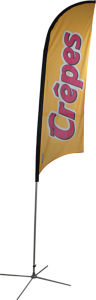 Outdoor Advertising Flying Display Flag Banner pictures & photos