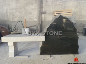 Granite Irregular Shape Bench Monument / Memorial Bench Tombstone pictures & photos
