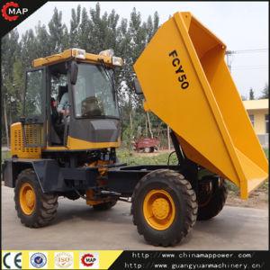 5 Ton Fcy50 RC 4X4 Diesel Mini Concrete Mixer Site Dumper pictures & photos