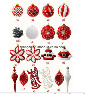 Set Christmas Balls Decoration for Christmas Tree pictures & photos