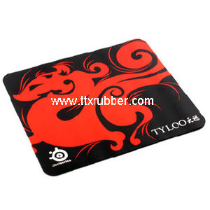 Non Slip Nature Rubber Backing Gaming Mouse Pads pictures & photos