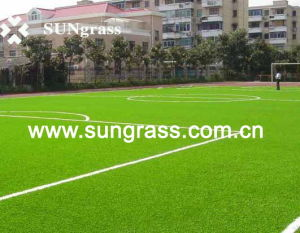 Artificial Grass for Basketball Football Field (JDS-60) pictures & photos