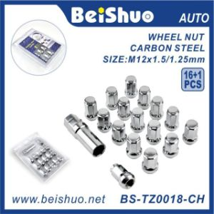 16+1 PCS Wheel Lock Nut Set with Blister Packing for Wheel Security pictures & photos