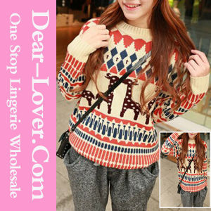 Custom Long Sleeve Women Knitwear pictures & photos