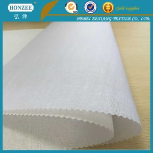 Cap Interlining Woven Interlining Fabric Polyester Fabric pictures & photos