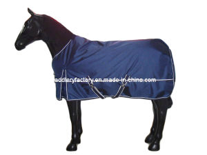Navy Waterproof Horse Products for Sale (SMR2526) pictures & photos