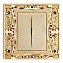 Gold Plated High Quality Brass Wall Switch pictures & photos