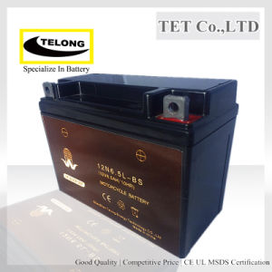 MF Valve Regulated Lead Acid Battery 12V 6.5ah for Motorcycle pictures & photos