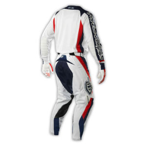 White OEM Polyester Sublimation Motorcycle Racing Jersey (MAT32) pictures & photos