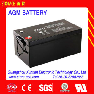 Solar Power Battery Sr200-12 12V200ah Mf Battery pictures & photos