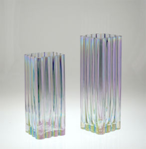 Glass Vase in Colorful (DRL14147&DRL14148) pictures & photos