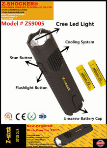 New Patented Stun Gun with CREE LED Flashlight pictures & photos