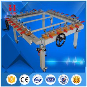 Manual Wheel Screen Mesh Stretcher Machine pictures & photos