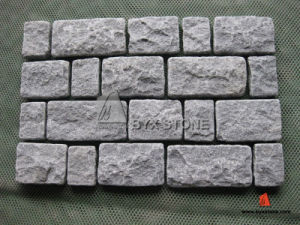Dark Grey Granite Natural Paving Stone for Garden pictures & photos