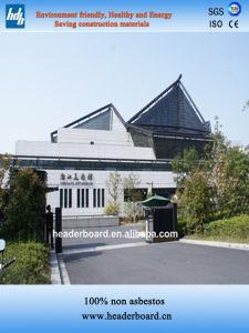 High Density Fiber Cement Board for Light Steel Villa