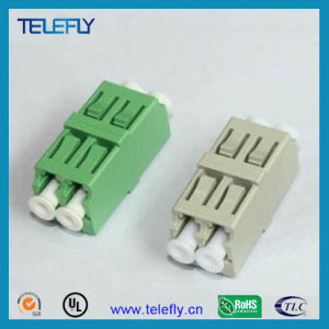 LC Duplex Fiber Optic Adapter