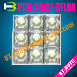 Car LED Roof Lamp PCB-27mmx27mm-9FLUX