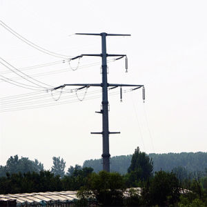 Power Transmission Line Monopole Tower pictures & photos