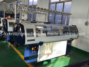Hot! Double System Flat Bed Shoe Upper Knitting Machine