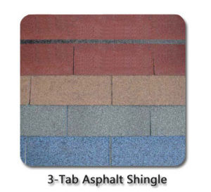 Root Tile-5-Tab Architectural Colorful Asphalt Shingles/Roofing Tiles pictures & photos