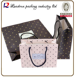 Paper Shopping Bag Coated Art Paper Carrier Print Packing Bag for Clothes Suit-Dress Underwear Sleepcoat Cosmetic Perfume Shoes (a104) pictures & photos
