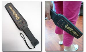 Hand Held Metal Detector (GC-1001)