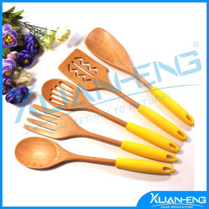 Wood Cooking Tools Utensils Spatula Spoon pictures & photos