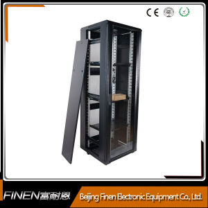 china a2 free standing pre assembled 42u glass door network, Powerpoint templates